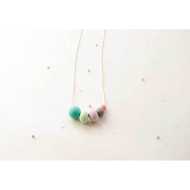 "Teething Necklace - Galileo ""Turquesa"""