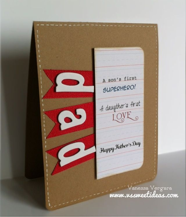 Handmade Cards Tagged As CAS Card Fathers Day