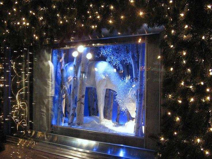 Tiffany's Holiday Window Displays