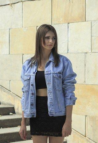 Wrangler Vintage Denim Jeans Jacket