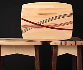 See how one woodworker turned a potentially mundane project into a work of art