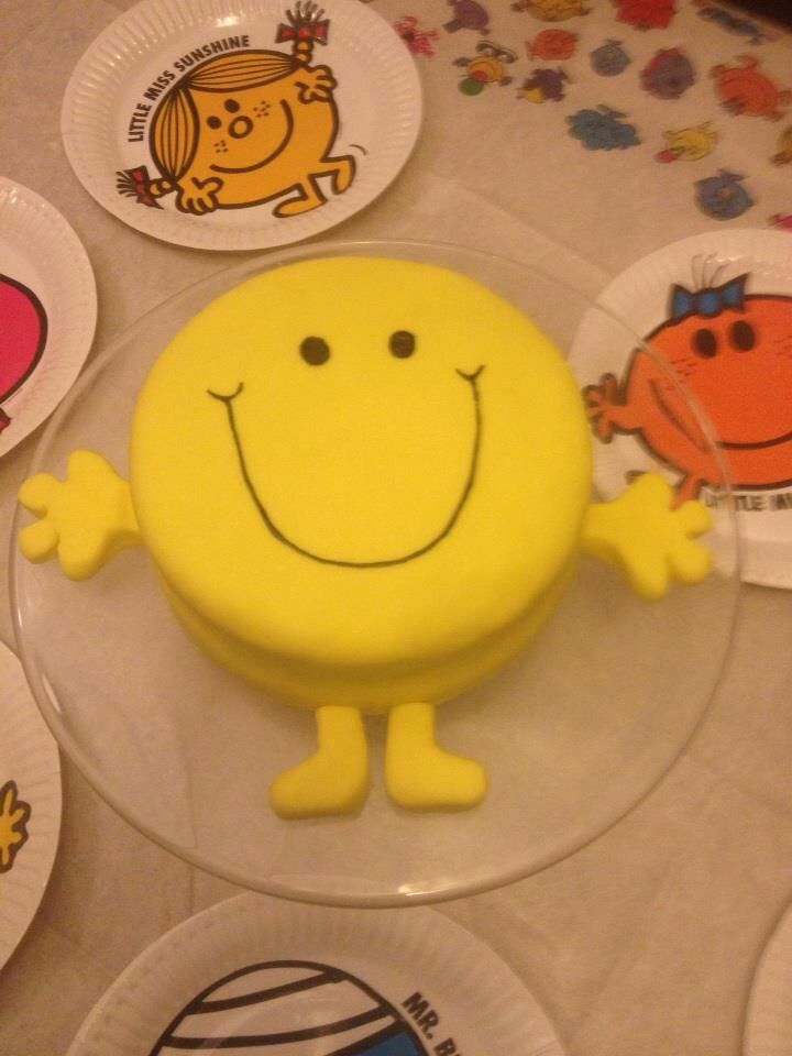Mr happy ....