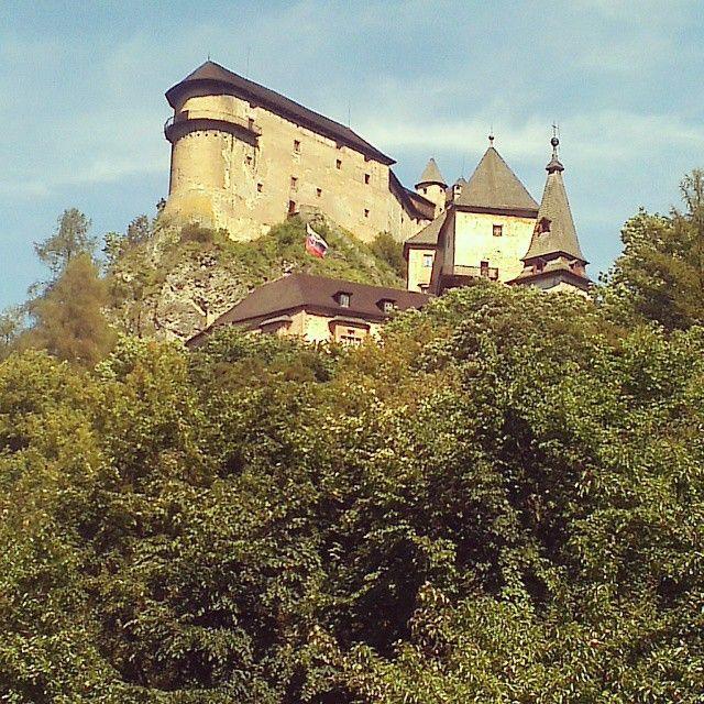 Oravský hrad ve městě Oravský Podzámok, Žilinský kraj