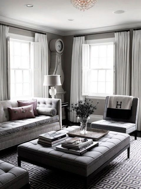 Gray you say? Why would you want your #home décor to look as dull as a rock? On the contrary! #Gray seems to be the number one choice in paint #color. It is very neutral and brightens the home by reflecting natural lighting. Visit our blog to find out more.