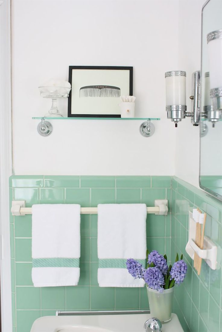 Green Bathroom Color Ideas best 20+ vintage bathrooms ideas on pinterest | cottage bathroom