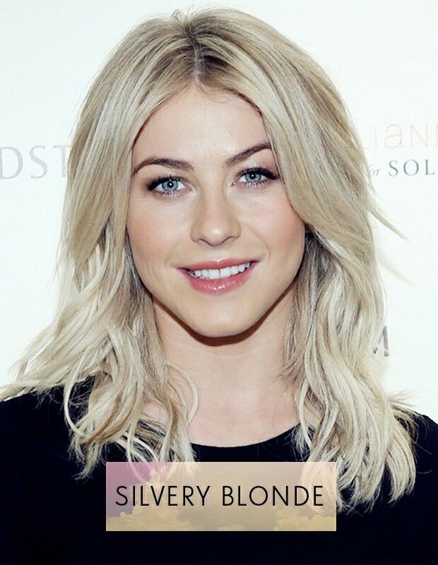 Perfect silvery blonde colour!