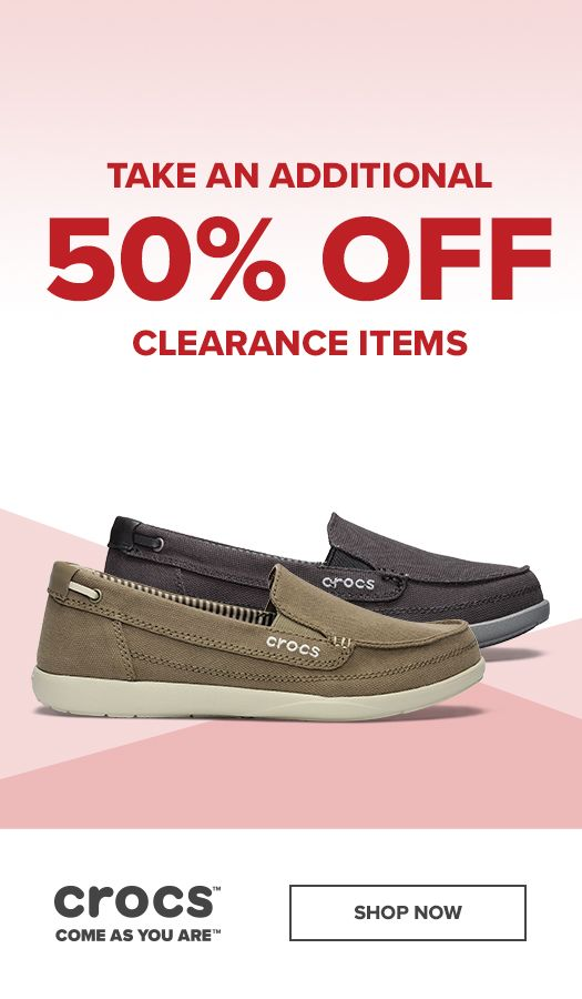 c44c158a6 Spring cleaning  Extra 50% off clearance styles is going on now ...