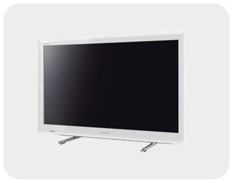 Sony KDL26EX555 66 cm (26 Zoll) LED-Backlight-Fernseher, Energieeffizienzklasse B (HD-Ready, 50Hz, DVB-T/C/S2, Internet TV) weiß: Amazon.de: Heimkino, TV & Video