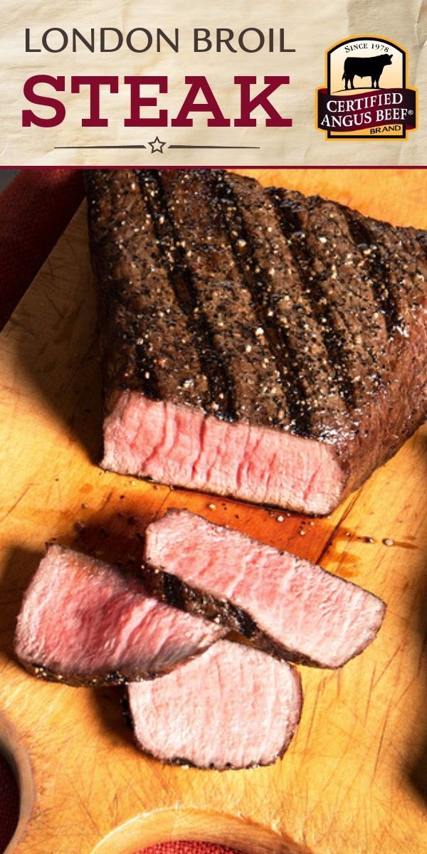 Delight Your Guests With This Easy Recipe For London Broil Steaks With Three Pepper Marinade The Marinad Broiled Steak London Broil Steak London Broil Recipes