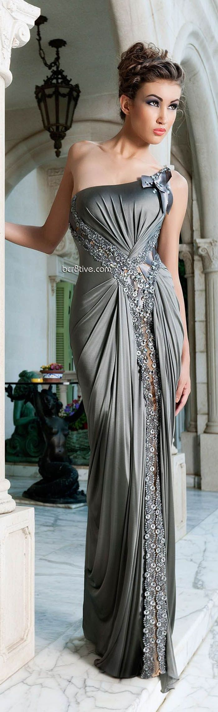 SILVER & GREY PRINTED DRESSES