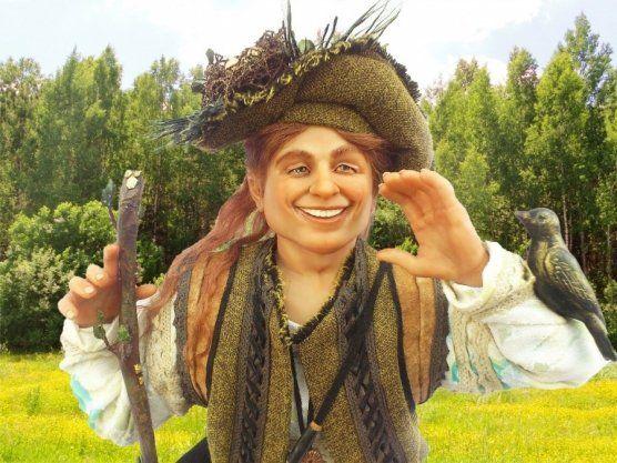 Купити: Колекционная портретная кукла Король леса - Каталог рукоділля zolotiruky.in.ua #7673