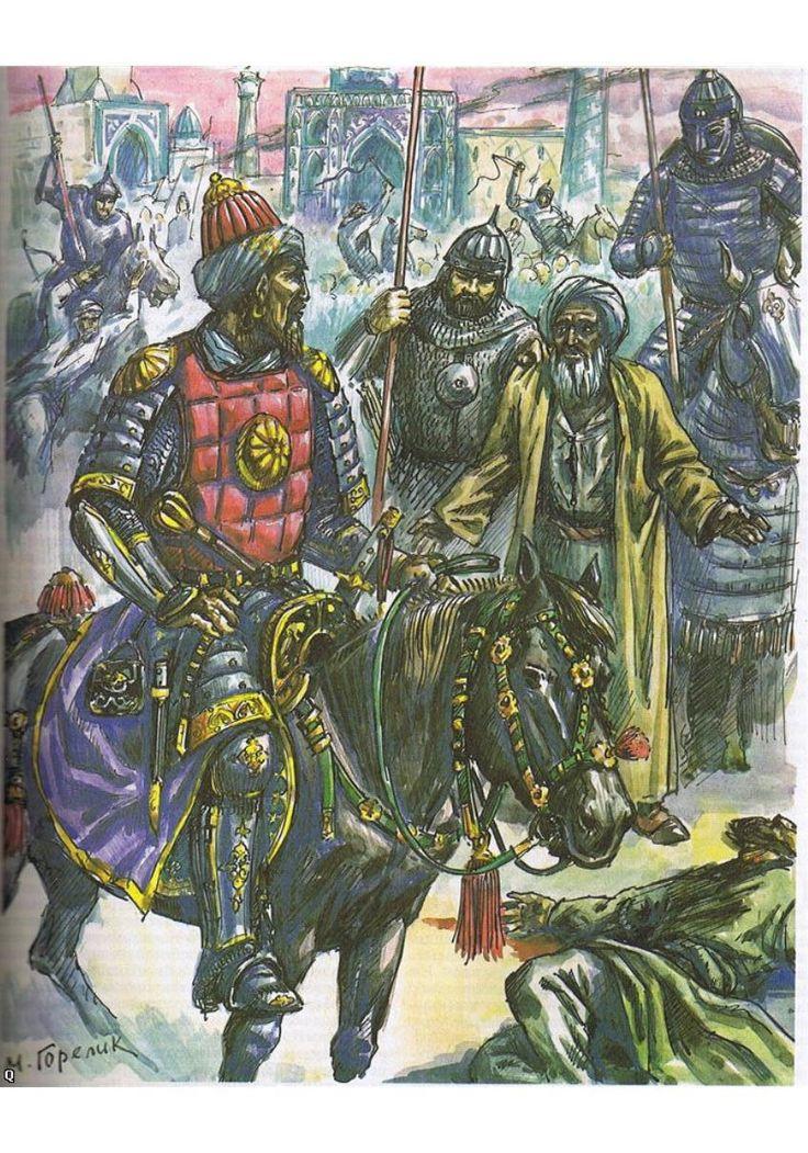Le guerrier et sultan turco-mongol Tamerlan