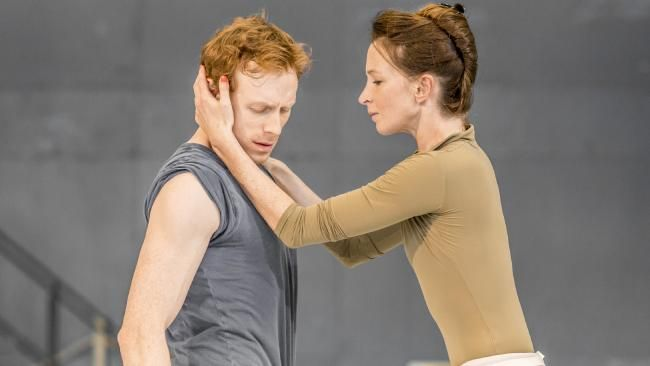 Watson with Lauren Cuthbertson in the Royal Ballet's The Winters Tale.