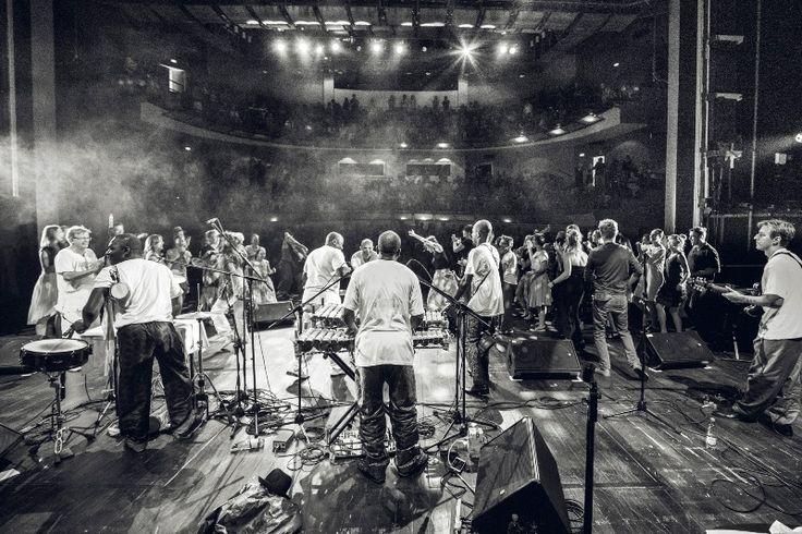 Balla Koyuate - Brave Festival Finale in Polski Theatre   Brave Festival 2015 Griot, phot. Mateusz Bral