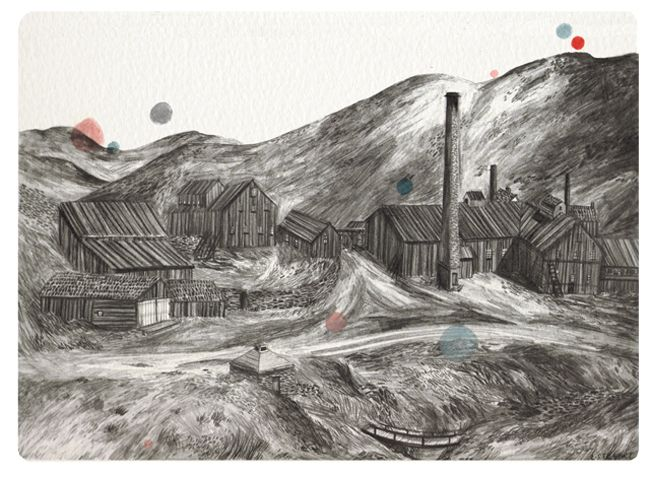 Landscapes - About Today - Illustration by Lizzy Stewart