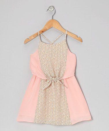 Light Pink Peony Dress - Toddler & Girls by Eddie & Stine by Eddie Bauer on #zulily #cutiestyle