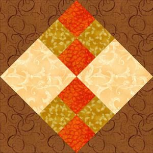 Use my quilt block pattern to make easy Improved Four-Patch quilt blocks. The pattern also includes instructions for a bed-sized quilt.