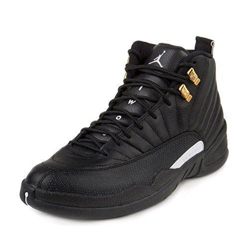 Nike Mens Air Jordan 12 Retro Black