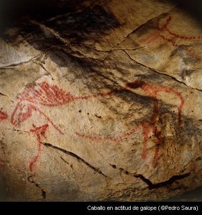 Caballo cueva de la Haza  Arte del Paleolitico - Penisola Iberica  Pinterest