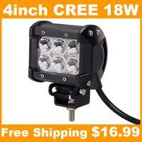 4 дюйма 18W Cree Led свет работы для мотоциклов автомобилей Motor Truck ...