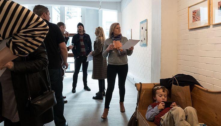 Adrienne Vaughan opening, Saturday 16 August 2014