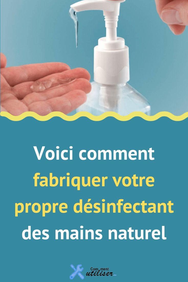 Voici Comment Fabriquer Votre Propre Desinfectant Des Mains