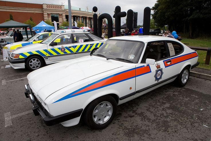 A classic from there past, a GMP Ford Capri at the annual Emergency Services Open Day, which took place at The Trafford Centre. Greater Manchester Police (GMP), Greater Manchester Fire and Rescue Service (GMFRS), North West Ambulance Service (NWAS) and a range of other emergency response, community safety and support services put on a range of displays and demonstrations to entertain and inform the public. www.gmp.police.uk