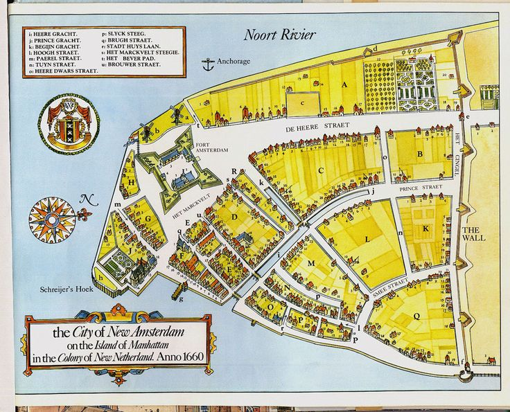 New Amsterdam - 1660 (or thereabouts)