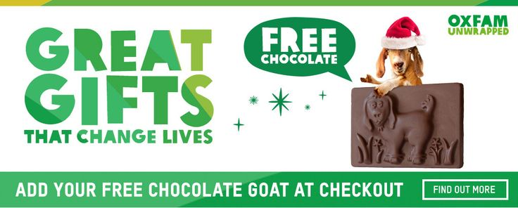Oxfam Unwrapped is Oxfam's poverty-busting charity gift range & home to the Oxfam goat. Buy great gifts which will really transform lives.