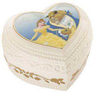 Beauty and the Beast - Sweet Romance Keepsake Box - Lenox - Classics Lenox - World-Wide-Art.com - $34.95