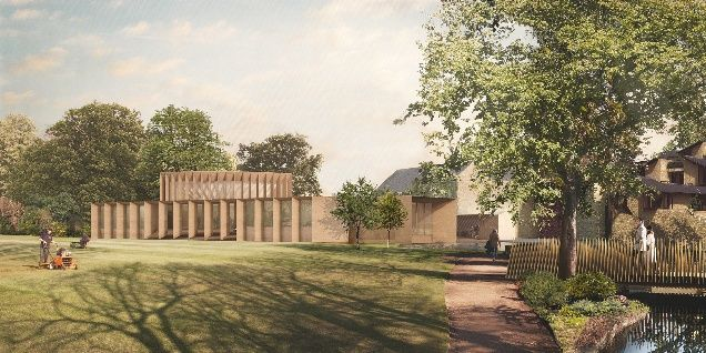 Niall McLaughlin Architects' winning scheme for Worcester College Oxford