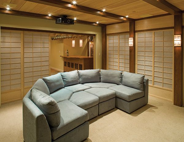 Japanese Style Home Theatre, Seating View. Part 92