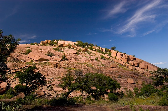 Texas Pink Granite Available Near Marble Falls Texas