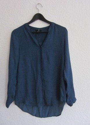 Kaufe meinen Artikel bei #Kleiderkreisel http://www.kleiderkreisel.de/damenmode/blusen/138126315-blaue-bluse-von-hm