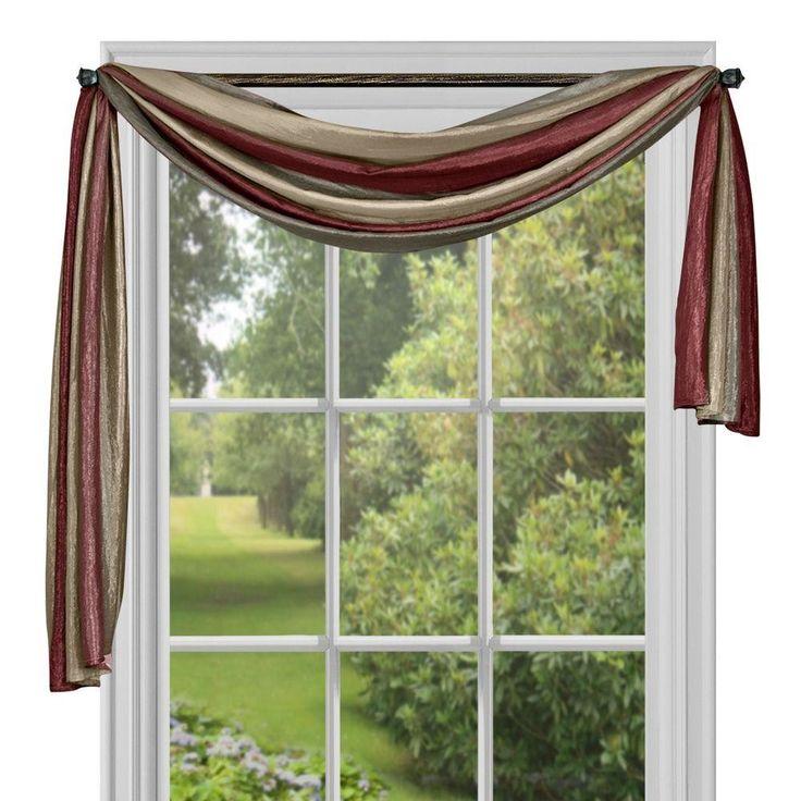 Best 25 Scarf Valance Ideas On Pinterest Curtain Scarf Ideas Window Scarf And Bathroom
