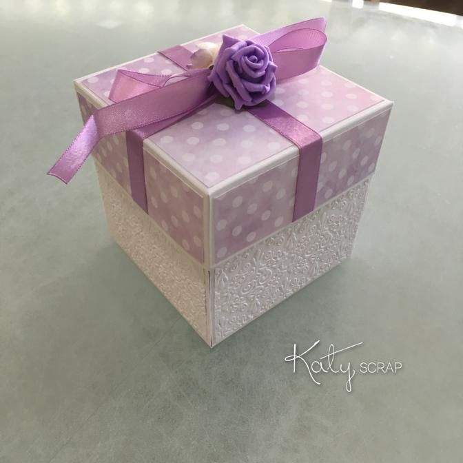Fler BLOG   Katy scrap / Svatební krabičky roku 2016 III.