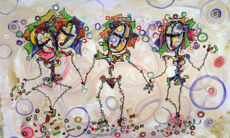 Group Love - Sold 2013 by Kim Dean