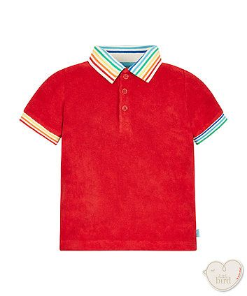 Little Bird by Jools Towelling Polo Top