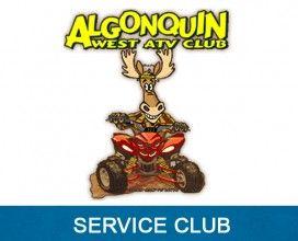 Algnoquin West ATV Club - In Kind Sponsor 2015