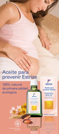 Aceite Para Prevenir Estrias -Marca Weleda
