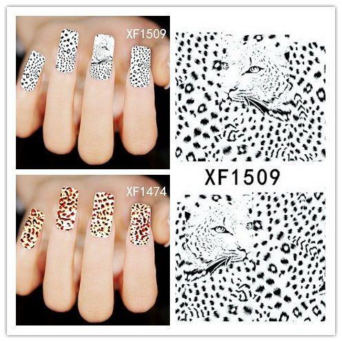 50 лист(ов) XF1470-XF1509 ногтей цветочная вода пересилки наклейка ногти обертывания фольга польские надписи временные татуировки водяной знак
