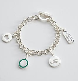 push gift charm bracelet | Topaz Mommy: About push presents