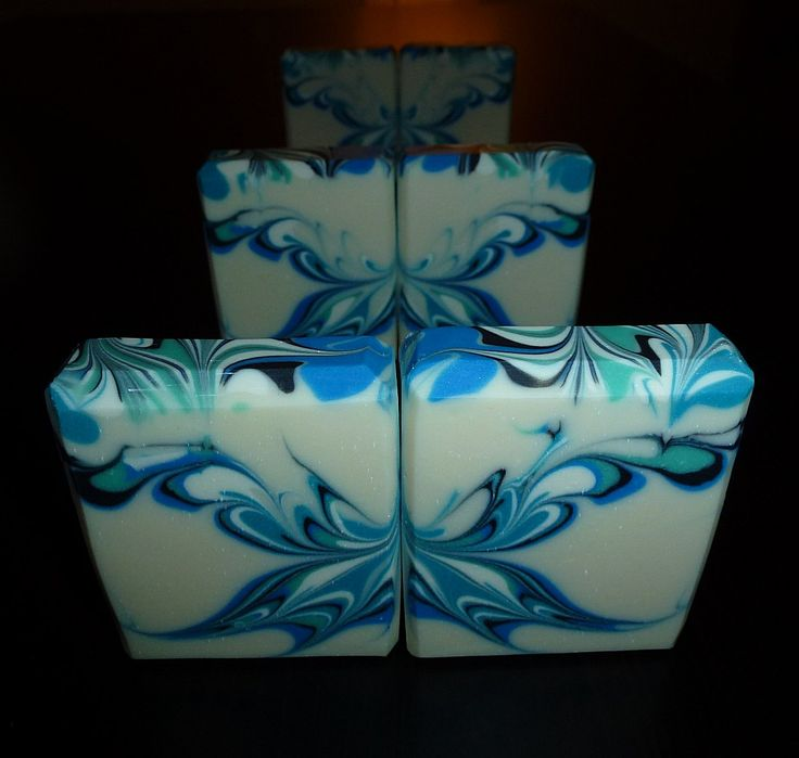 Butterfly swirl - CP soap