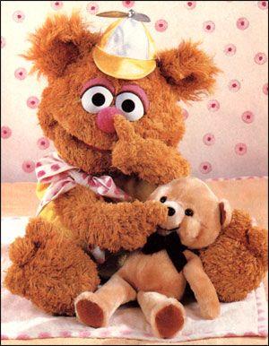 Muppet babies - who doesn't love Fozzie Bear?