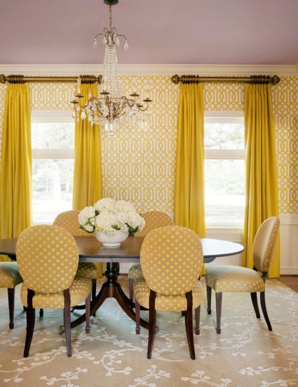Beautiful dining room designed by tobi fairley with for Pictures of beautiful dining rooms
