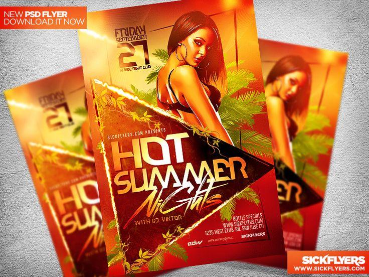 Summer Flyer Template PSD by Industrykidz