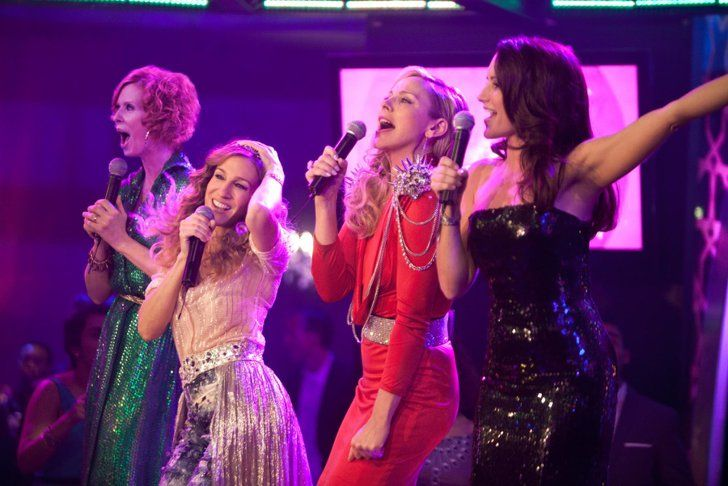 Pin for Later: 6 Times Carrie and Miranda Were Carrie and Miranda 5. When They Belted Out a Tune Together