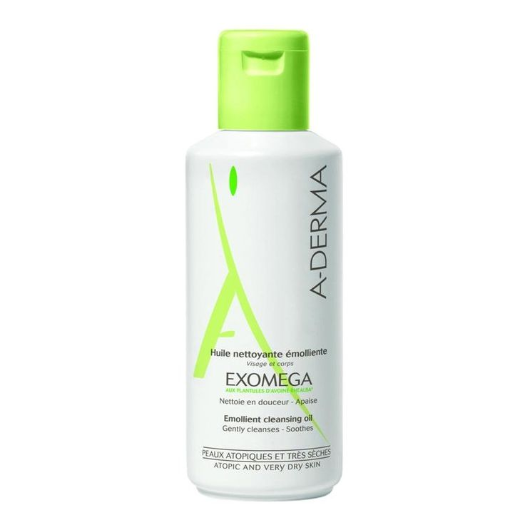 Aderma Exomega Emollient Cleansing Oil Face And Aderma Exomega Cleansing Oil is soap free and has been designed especially for eczema prone skin of babies, children and adults as well as those of dry skin. It also provides the skin with the ingredi http://www.MightGet.com/january-2017-11/aderma-exomega-emollient-cleansing-oil-face-and.asp