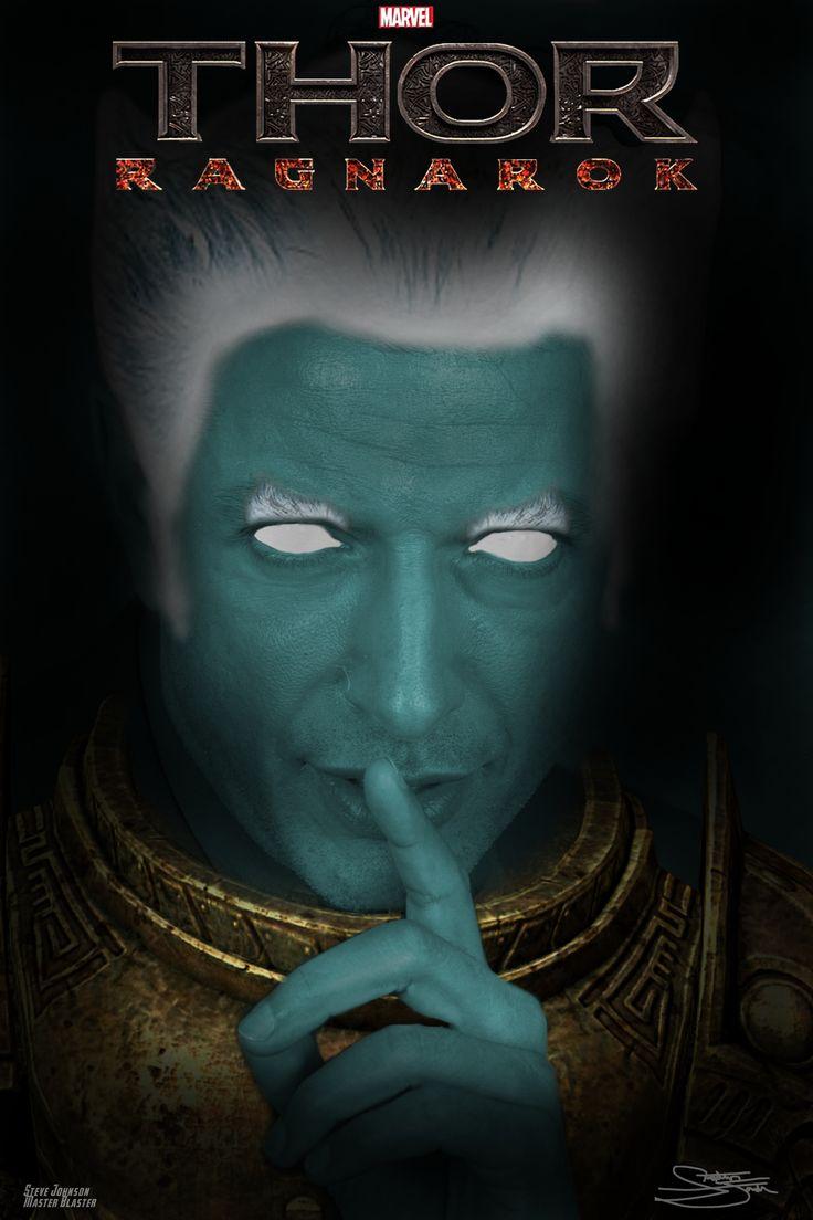 White apron ragnarok - Fan Art Of Jeff Goldblum As The Grandmaster In Thor Ragnarok