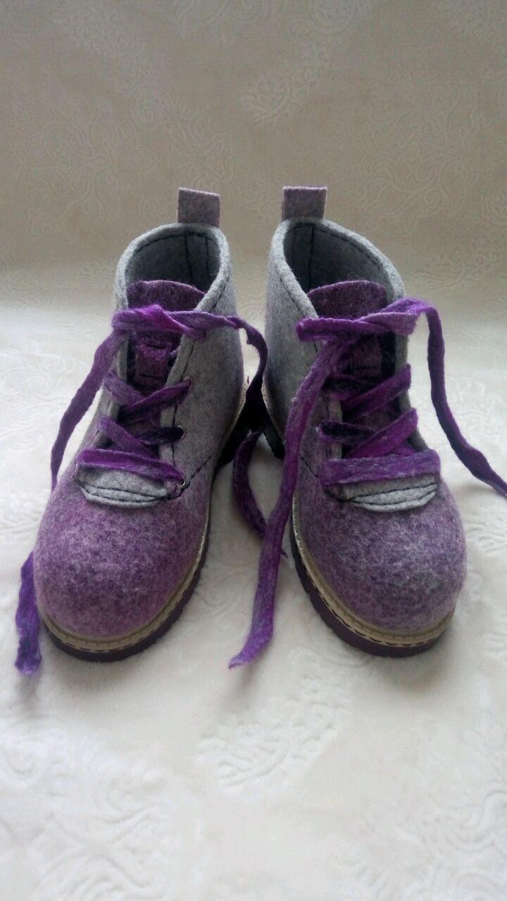 46d7bb3c36d0c Валяные ботинки – купить или заказать в интернет-магазине на Ярмарке  Мастеров | Цельноваляные ботинки ручной работы из овечьей…